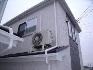 屋根置き室外機