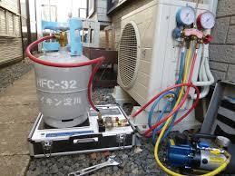 ガス充填作業作業