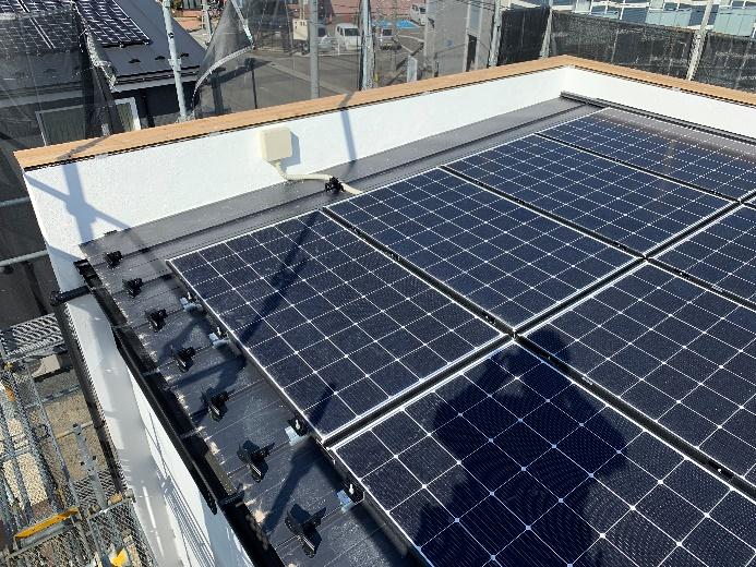 太陽光パネル施工事例